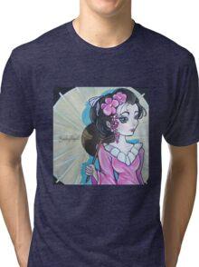 Geisha Girl  Tri-blend T-Shirt