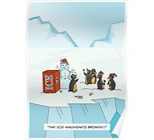 Ice Christmas Poster