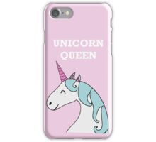 Unicorn Queen iPhone Case/Skin