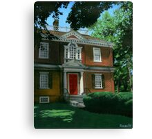 Woodford Mansion Canvas Print