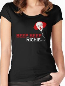 Beep beep, Richie Women's Fitted Scoop T-Shirt