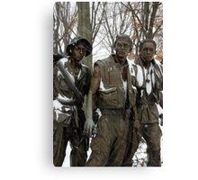 Vietnam Veterans Memorial Canvas Print
