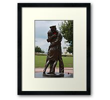 The Welcome Home Framed Print