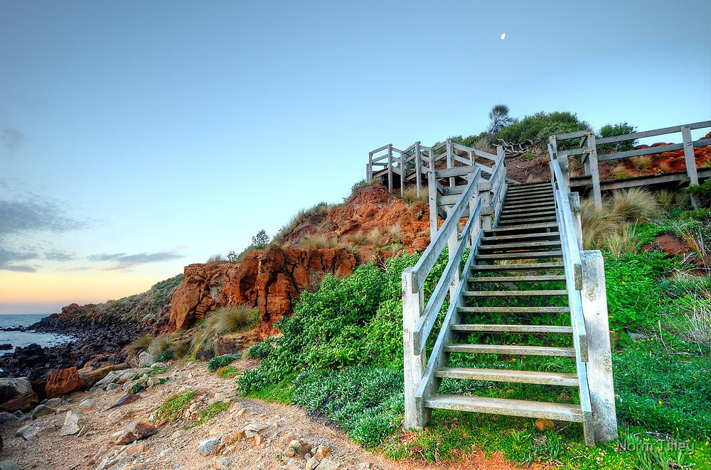 Stairs to the Moon by Norm Tilley