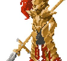 Pixel Souls - Dragon Slayer Ornstein by Tande