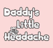 daddy's little headache One Piece - Long Sleeve
