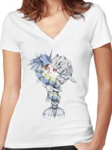 Entwine  Women's Fitted V-Neck T-Shirt