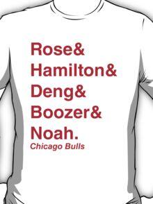 2011-2012 Chicago Bulls Jetset T-Shirt