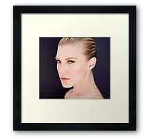 Katee Sackhoff by Dennys Ilic Photography Framed Print