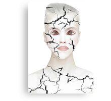 Crack Canvas Print
