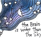The Brain is Wider than the Sky by dosankodebbie
