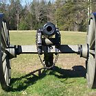 American Civil War Cannon Union by dww25921