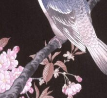 Cherry Blossom Bird Sticker