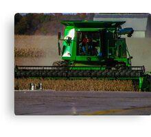 farming in the fall Canvas Print