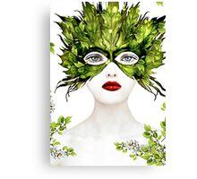 Natural Women  Canvas Print