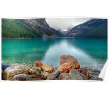 A View of Lake Louise Poster
