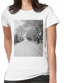 First Snowstorm Womens Fitted T-Shirt