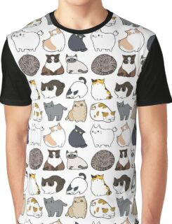 Cats Cats Cats Graphic T-Shirt
