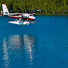 Twin Otter Landing by Yukondick