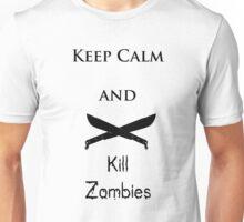 Keep Calm Black lettering Unisex T-Shirt