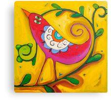 Sun on the Lovebird Canvas Print