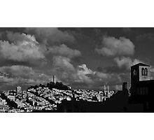 Clouds over San Francisco Photographic Print