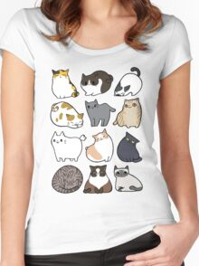 Cats Cats Cats Women's Fitted Scoop T-Shirt