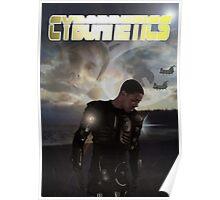 Cybornetics - Yellow Font Poster
