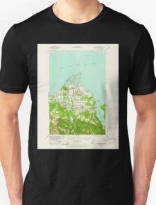 USGS Topo Map Washington State WA Dungeness 240899 1938 62500 T-Shirt