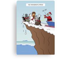 The Reindeer Strike Canvas Print