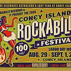 Coney Island Rockabilly Festival Poster by deathray66