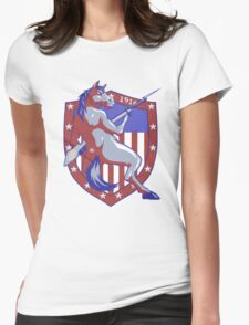 Horses and Bayonets - 1916 Womens Fitted T-Shirt