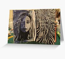 Altered Book - Innerself - Emotions Greeting Card