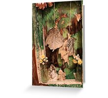 Altered Book - Innerself - Faeries part 2 Greeting Card