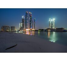 Skyscraper Beach Photographic Print