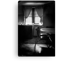Kitchen Table Canvas Print