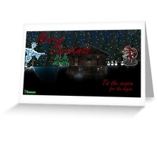 Terraria Chrismas Legion Mug Greeting Card
