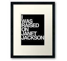 Born & Raised Framed Print