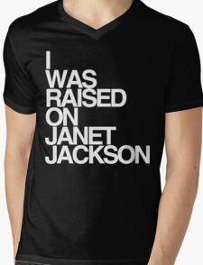 Born & Raised Mens V-Neck T-Shirt