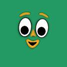 Gumby face by Jordan Bails