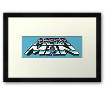 PixelMan Framed Print