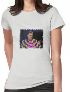 Peace Mitt? Womens Fitted T-Shirt