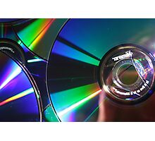 Rainbow Music Photographic Print