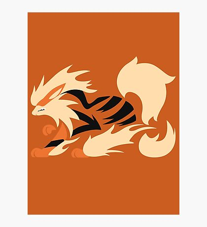 Legendary Flame - Arcanine (Fierce) Photographic Print