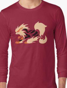 Legendary Flame - Arcanine (Fierce) Long Sleeve T-Shirt