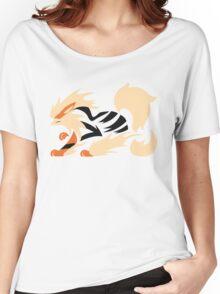 Legendary Flame - Arcanine (Fierce) Women's Relaxed Fit T-Shirt