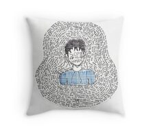 Some of Us Are Human Throw Pillow