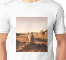 The Martian Quote Unisex T-Shirt