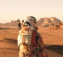 The Martian Quote Sticker