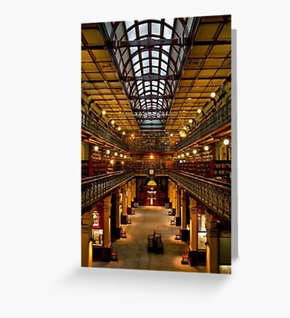 Inside the Mortlock Wing Greeting Card